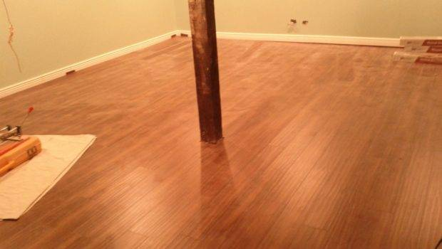 Laminate Flooring Basement Video
