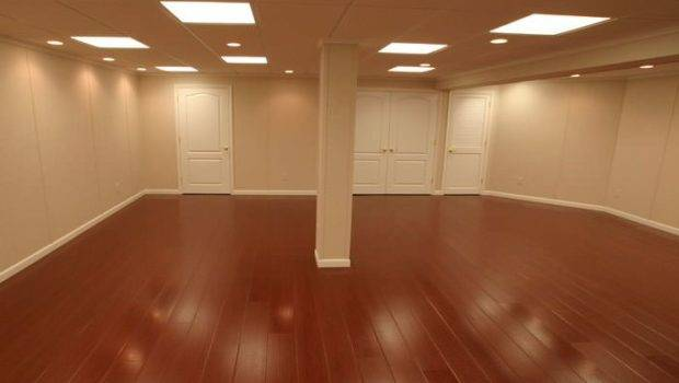 Laminate Flooring Floating Basement