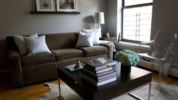 Lamp Shelving Living Rooms Painted Gray Color Green Room Paint
