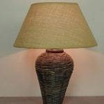 Lamps Lanterns Awesome Pair Tall Woven Bedside