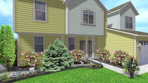 Landscaping Ideas Front House Casual Cottage