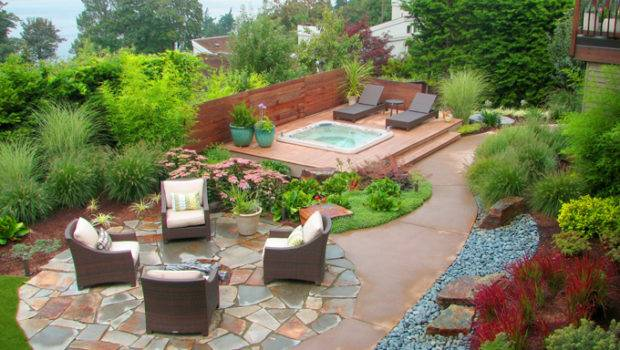 Landscaping Ideas Outdoor Furniture Modern Backyard Garden
