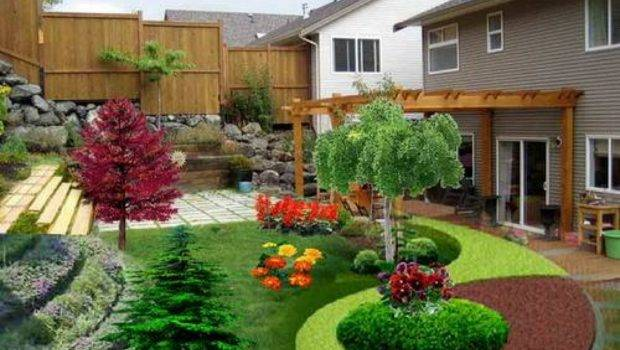 Landscaping Small Lawn Garden Landscape Ideas Areas