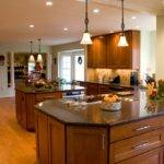 Large Kitchen Cabinets Lighting Ideas