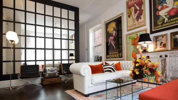 Large Living Room Wall Decorate Vintage