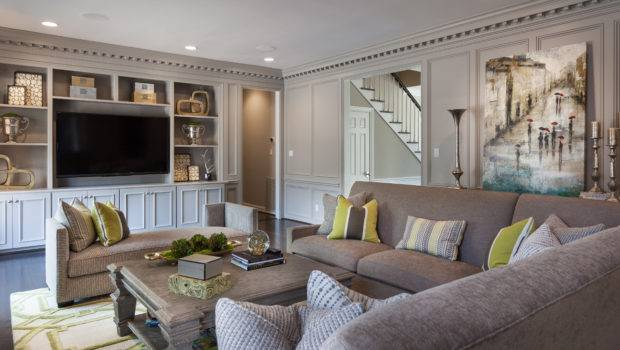 Large Windows Spanning Across Living Room Eating Area Provide