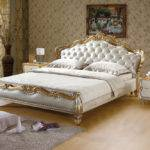 Latest Designs Leather Cool Soft Beds Sales King Bed