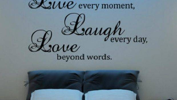 Laugh Love Decor Bedroom Live Home