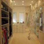 Laundry Room Walk Closet Design Narrow White Scemed Best