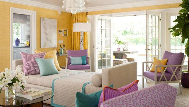 Lavender Yellow Lovely Combo English Room