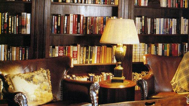 Leather Chair Library Books Interiors Healthy Church Radio