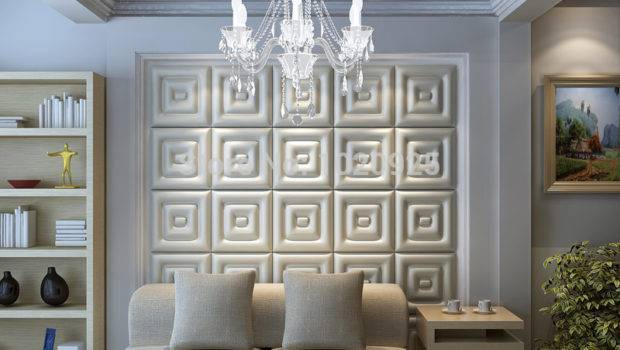 Leather Wall Panels Acoustic Faux Ceiling Tile
