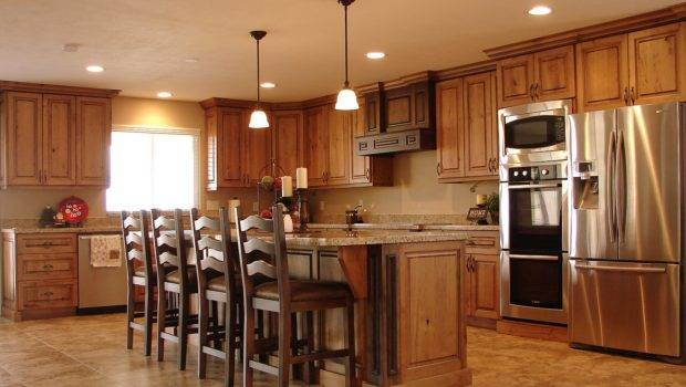 Lec Cabinets Rustic Cherry