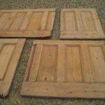 Lengths Victorian Antique Reclaimed Pine Dado Wall Panelling