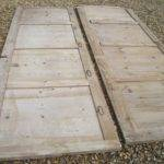 Lengths Victorian Antique Salvaged Pine Wall Panelling