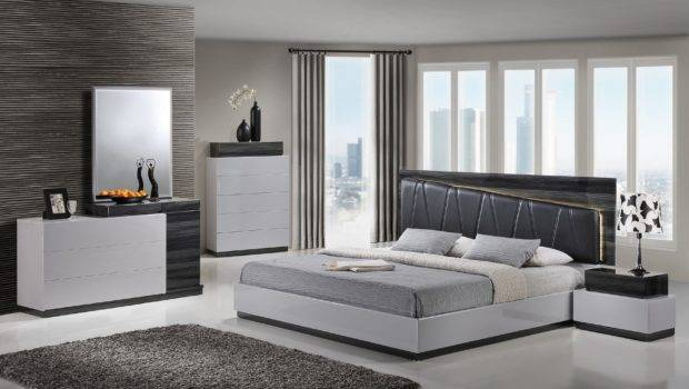 Lexi Silver Gray Queen Bed Global Furniture Usa