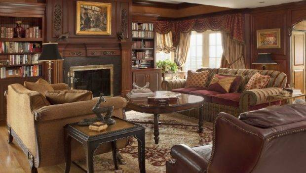Library Decorate Style Design Cozy