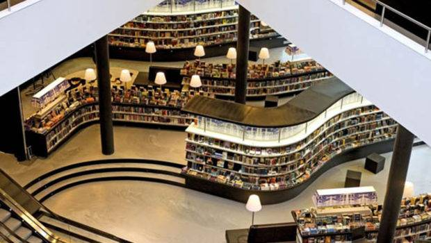 Library Designs One Total Modern Netherland