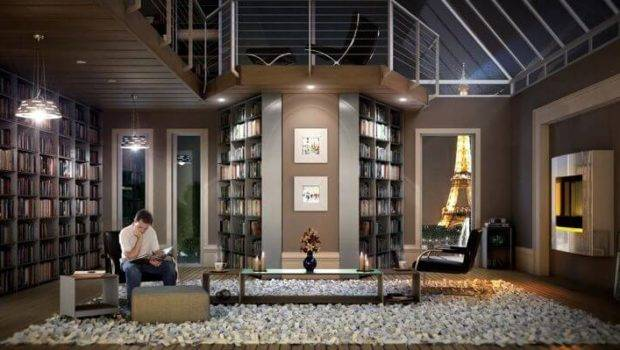 Library Perfect Modern Homes