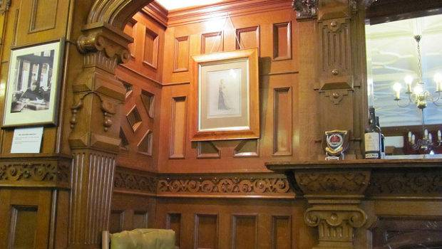 Library Wood Paneling Flickr Sharing