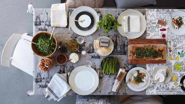 Lifestyle Blog Breakfast Audrey Interiors Place Settings