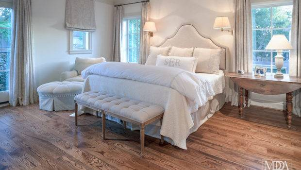 Light Gray Bedroom Creamy White Walls Accented