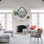 Light Gray Sectional Contemporary Living Room Lauren Nelson
