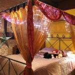 Lighting Decorating Canopy Bed Kids Ideas