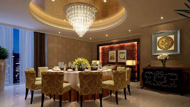 Lighting Design Dining Room Round Table House