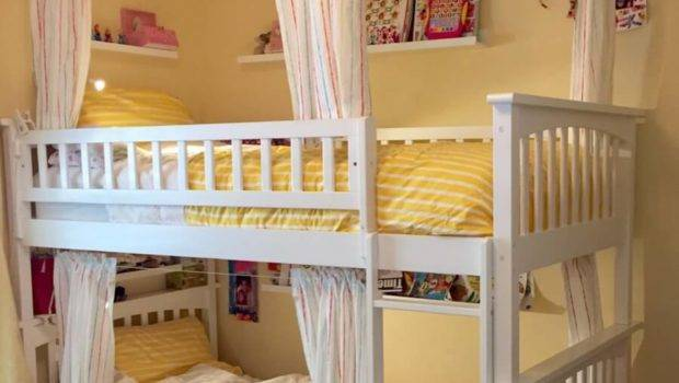 Lightweight Breathable Bunk Bed Curtains Ikea Hackers