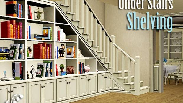 Lilyofthevalley Under Stairs Shelving