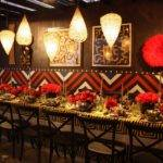 Lipstick Red Party Dining Table Home Decorating Trends Homedit