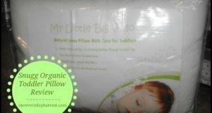 Little Big Pillow Snugg Organic Pillows Toddler Review
