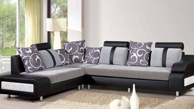 Living Grey Sofa Modern Adorable Designs Sofas