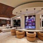 Living Room Bar Ideas Modern Photos