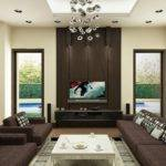 Living Room Colors Ideas Dark Furniture