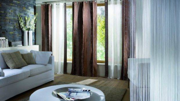 Living Room Curtains House Design Curtain Ideas