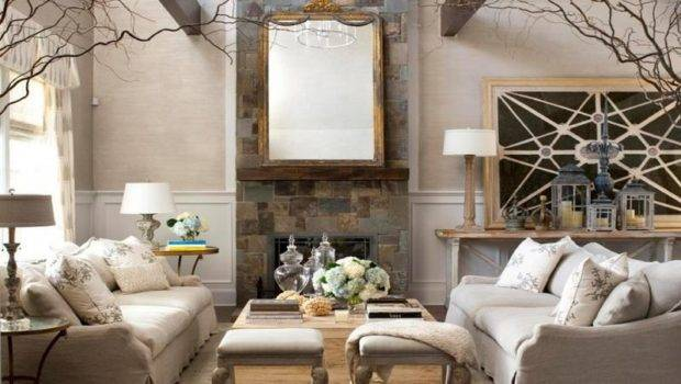 Living Room Decorating Ideas Rooms High Ceilings
