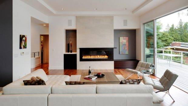 Living Room Decorating Mistakes Modern Fireplace Wooden Table