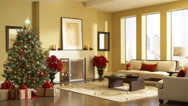 Living Room Decorations Christmas Decoration Ideas