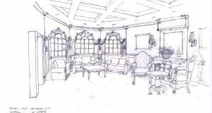 Living Room Design Drawing Designyourhouse Xyz