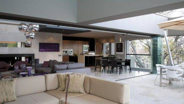 Living Room Design Open Space House Amazing Modern
