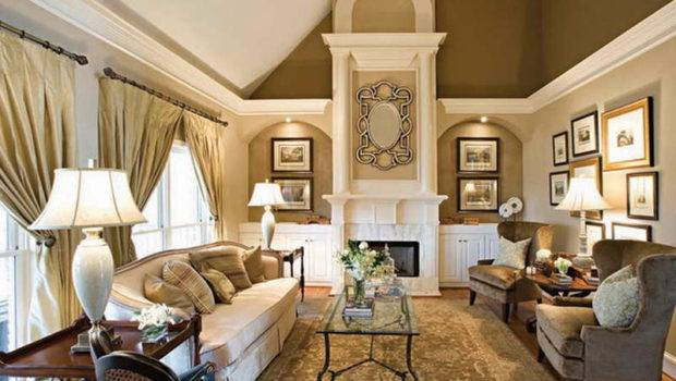 Living Room Elegant Paint Colors