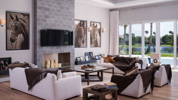 Living Room Examples Large Wall Hangings Modern