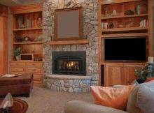 Living Room Gas Fireplace Inserts Fireplaces Ideas