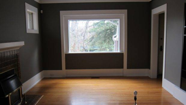 Living Room Has Been Painted Ever Popular Chelsea Gray
