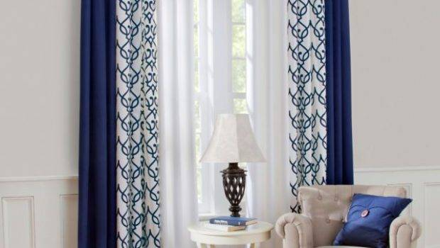 Living Room Interesting Curtain Ideas