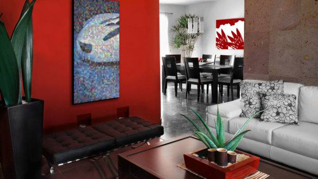 Living Room Interior Other Best Wall Paintings Red
