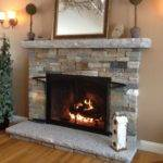 Living Room Marvellous Stone Fireplaces Home Interior