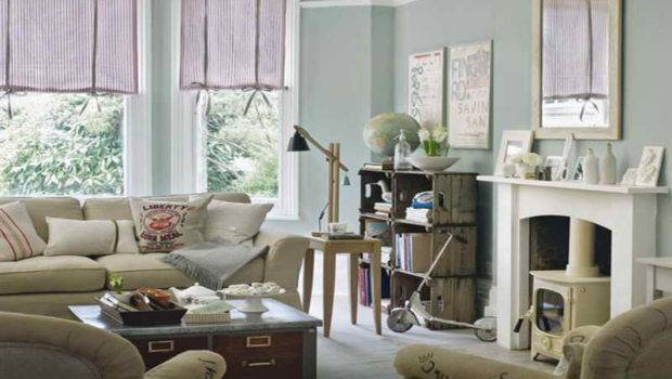 Living Room Relaxed Vintage Ideas